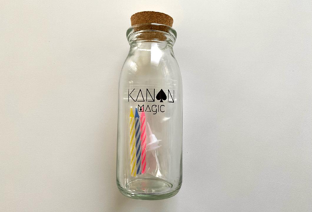 マジシャン叶音 オリジナルマジック瓶|マジシャン叶音オリジナルグッズ|女性マジシャン・マジック