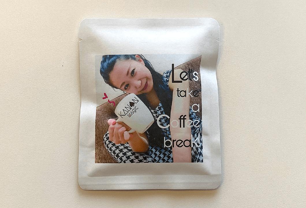 マジシャン叶音 オリジナルコーヒー&煎餅|マジシャン叶音オリジナルグッズ|女性マジシャン・マジック